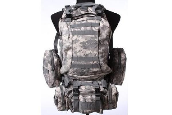 32da994b6bc Bojový kombinovaný batoh 45L - ACU - Airsoft shop - Warstore