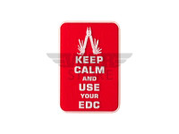 Keep Calm EDC Rubber Patch
