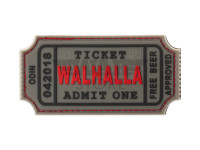 Large Walhalla Ticket Rubber Patch