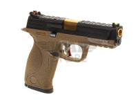 WET-05 BK Gold Barrel Metal Version GBB