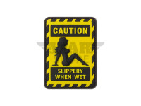 Slippery when Wet Rubber Patch