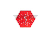 Paramedic Hexagon Rubber Patch