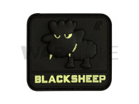 Little Black Sheep Rubber Patch