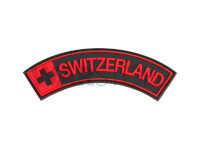 Switzerland Rubber Patch Blackmedic