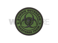 Zombie Outbreak Rubber Patch