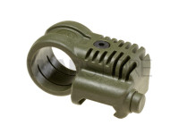 Picatinny QR Offset Flashlight Adaptor