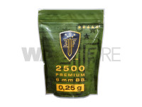 0.25g Premium Selection 2500rds