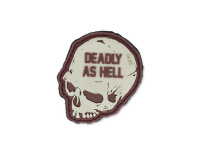 101 Inc. - 3D Patch - Deadly As Hell - Coyote